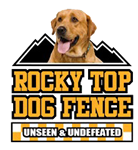 Rocky Top Dog Fence